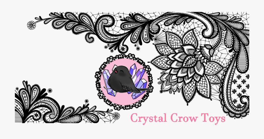 Free Lace Vector Download Png Png Download Black- - Transparent Background Lace Png, Transparent Clipart