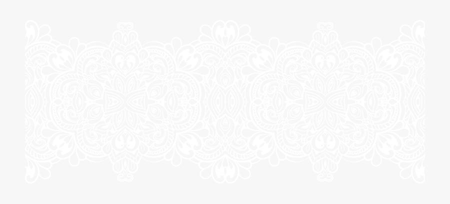 Ornament Lace Style Transparent Png Clip Art - Clip Art White Lace Transparent Background, Transparent Clipart