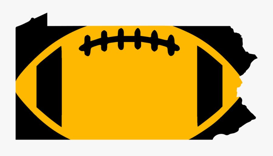Pittsburg Football Design, Transparent Clipart