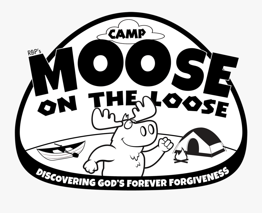 Camp Moose On The Loose - Moose On The Loose Vbs, Transparent Clipart