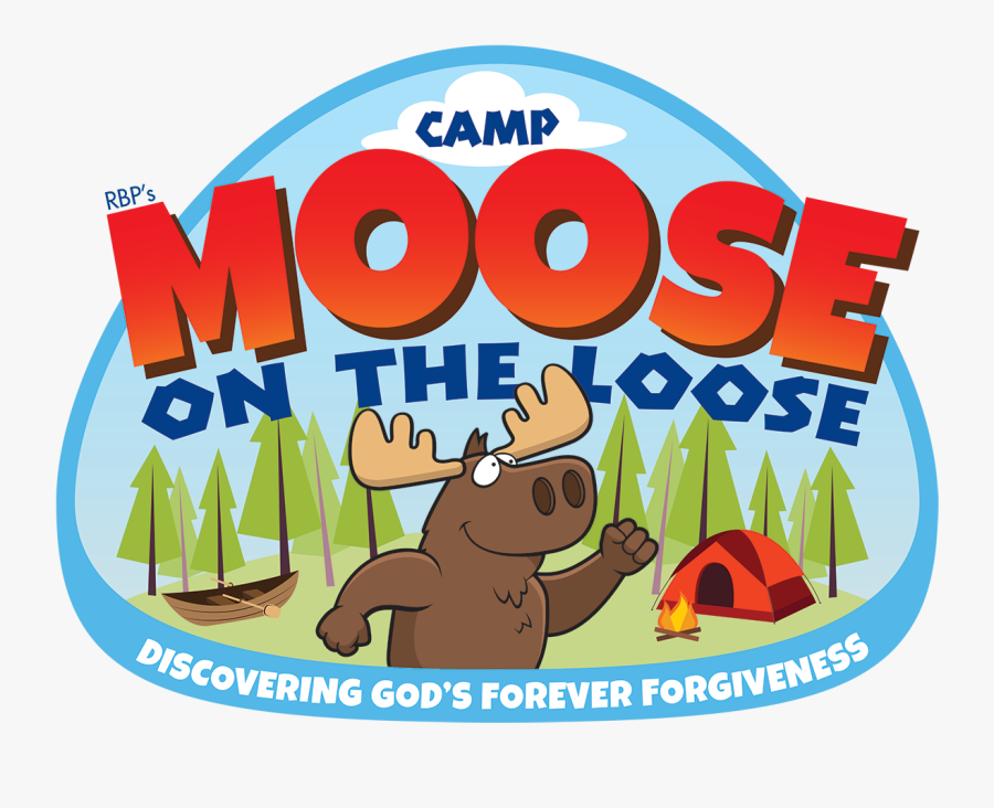 2018 Clipart Vbs - Camp Moose On The Loose Vbs 2018, Transparent Clipart