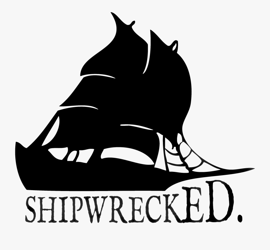 Clipart Boat Shipwrecked - Shipwrecked, Transparent Clipart