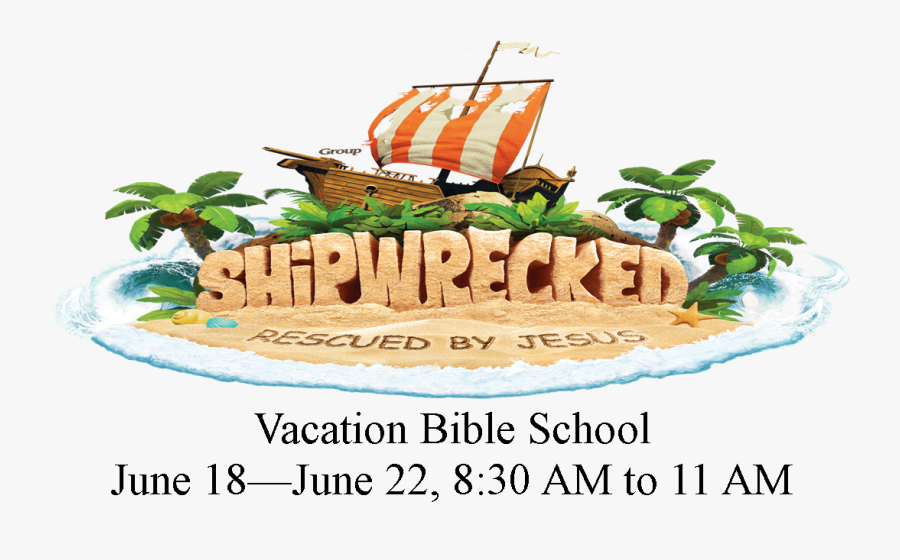 Vbs Shipwrecked Rescued By Jesus, Transparent Clipart