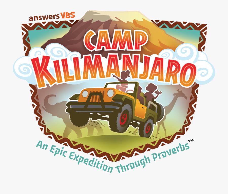 Camp Kilimanjaro Vbs, Transparent Clipart