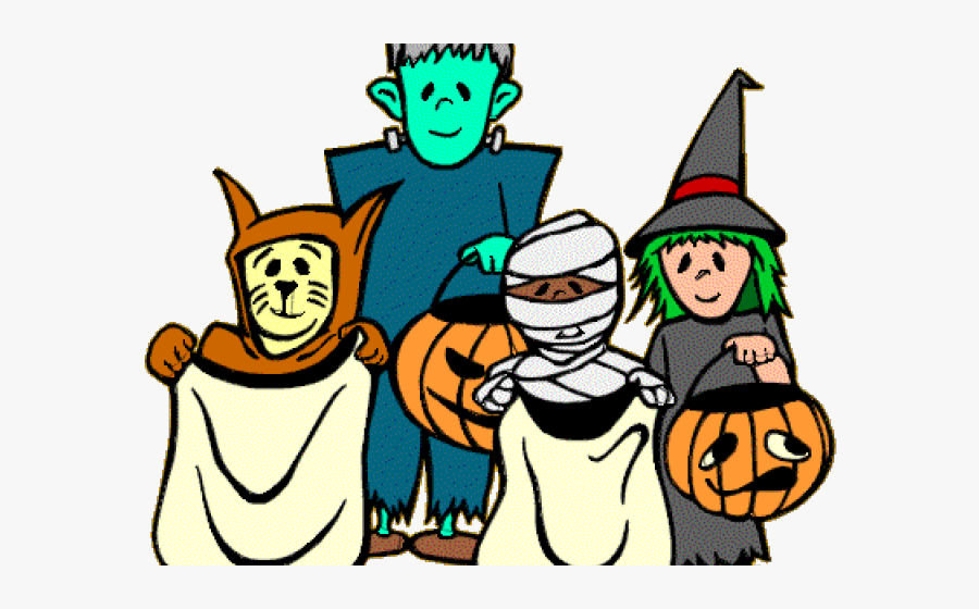 Trick Or Treat Clipart Toddler - Halloween Clipart, Transparent Clipart
