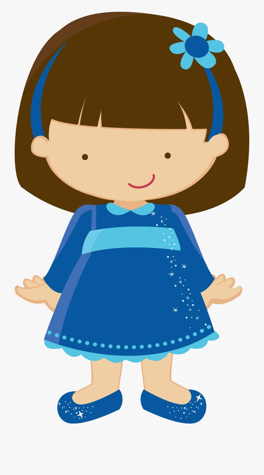 Banner Library Toddler Girl Clipart - Desenhos De Meninas E Meninos, Transparent Clipart