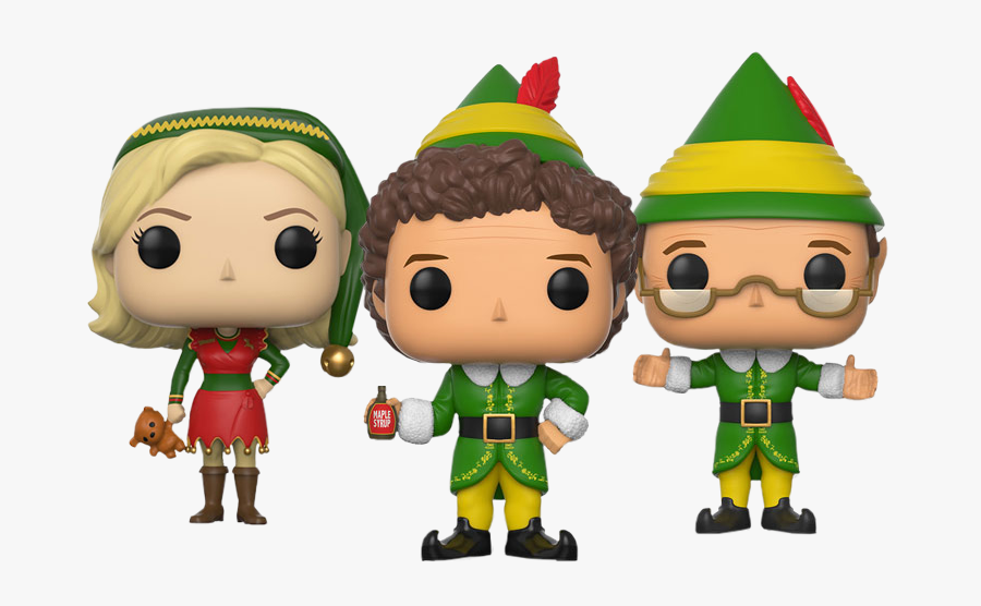Buddy The Elf Hat Png Vector Freeuse Library - Elf Funko Pop, Transparent Clipart