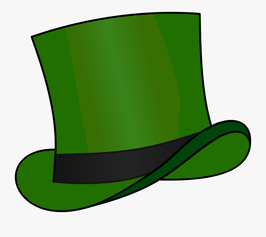 Top Hat Green - Six Thinking Hats Green Hat, Transparent Clipart