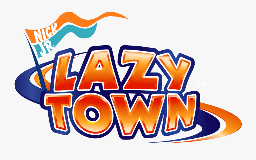 The Transition From What Was Once The Comical Tv Show - Lazy Town Logo Png, Transparent Clipart