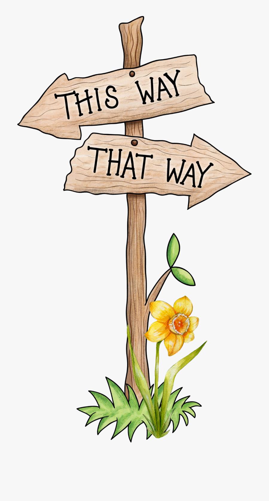 This Way Clip Art