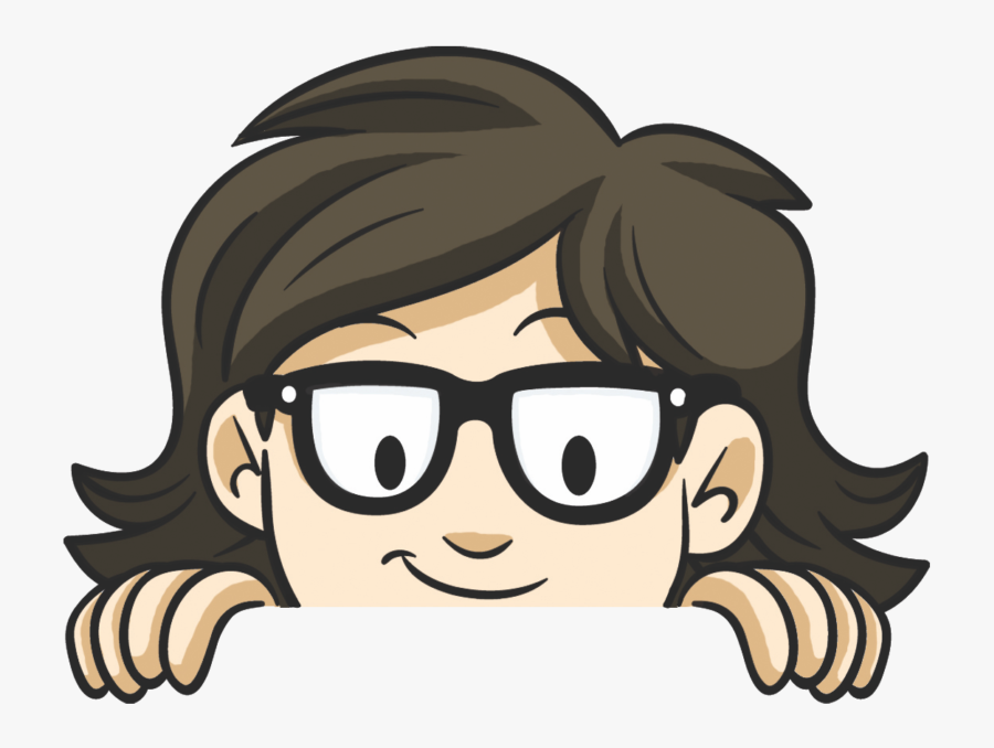 Nerds In The News - Cartoon, Transparent Clipart
