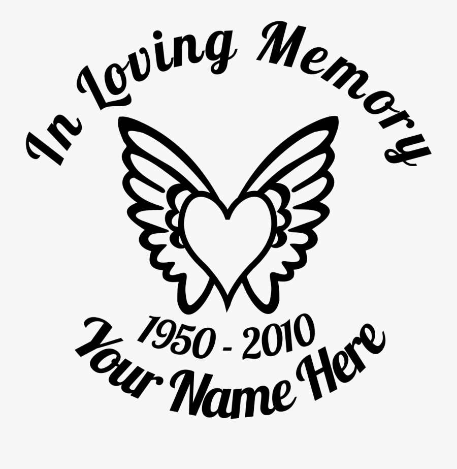 Clip Art Royalty Free Download In Loving With Wings - Loving Memory Wings With Heart, Transparent Clipart