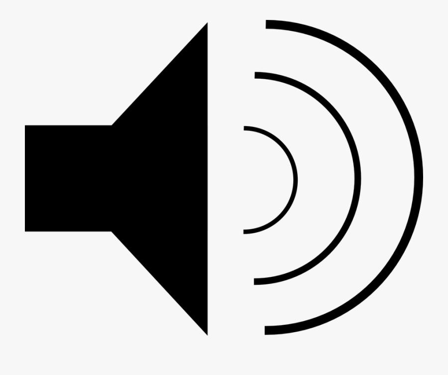 Speaker, Sound, Volume, Loudspeaker, Audio, Sign - Speaker Clip Art, Transparent Clipart