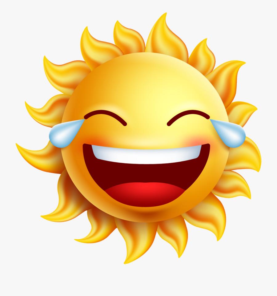 Clip Art Sun Png Stock Techflourish - Animated Sun With A Face, Transparent Clipart