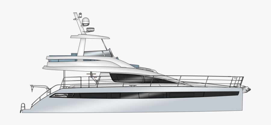 Clip Art My Girl Yacht - Luxury Yacht, Transparent Clipart
