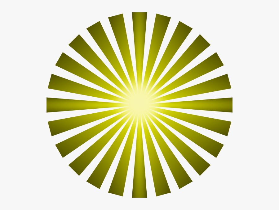 Blue Sun Ray Png, Transparent Clipart
