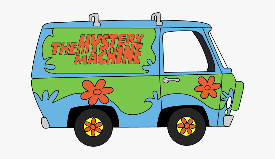 Mystery Machine Scooby Doo Png, Transparent Clipart
