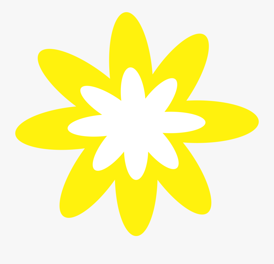 Clipart - Yellow Flowers Clipart Png, Transparent Clipart