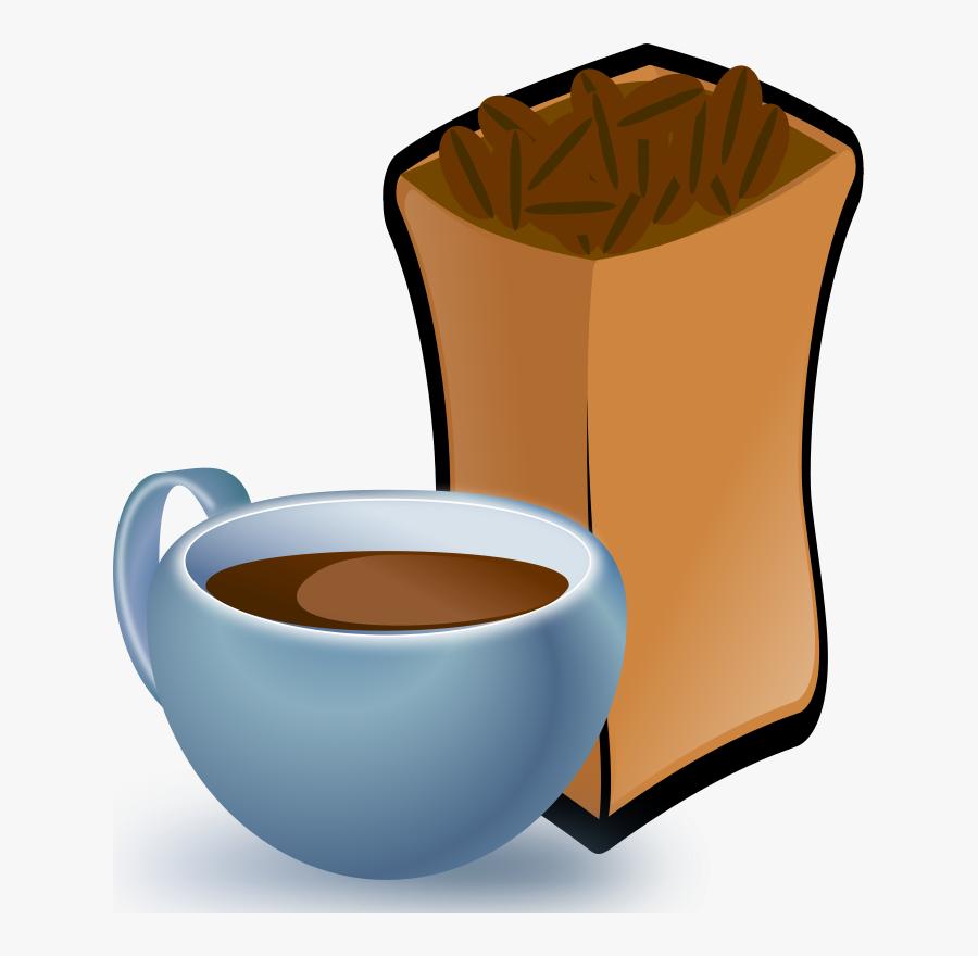 Coffee Beans Clip Art, Transparent Clipart