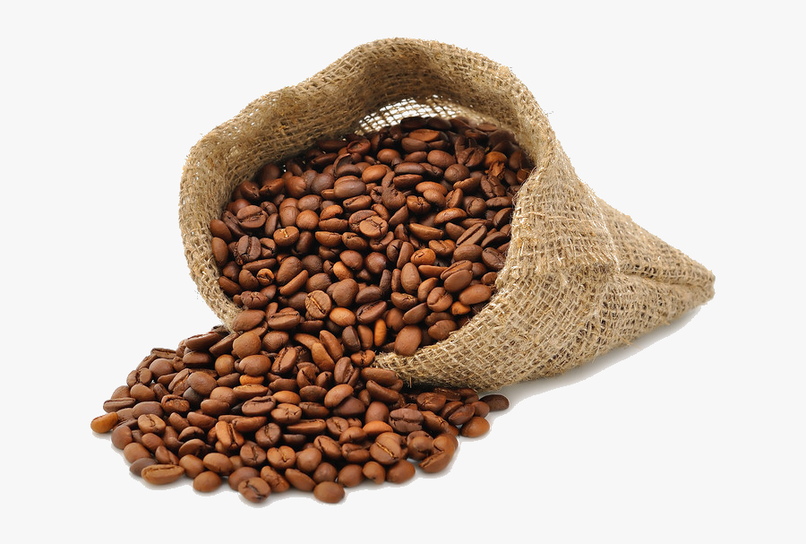 Coffee Beans Bag Png, Transparent Clipart
