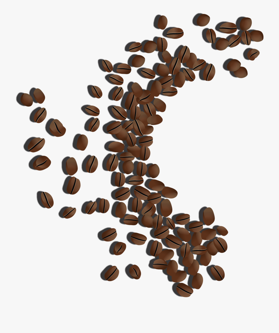 Coffee Beans Clipart Png Image - Png Image Coffee Bean, Transparent Clipart