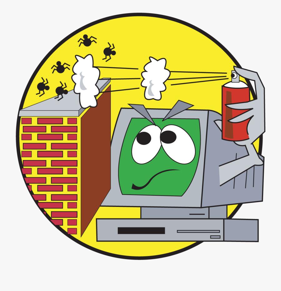 Clip Art Computer Viruses Clipart - Animated Computer Virus Clipart, Transparent Clipart