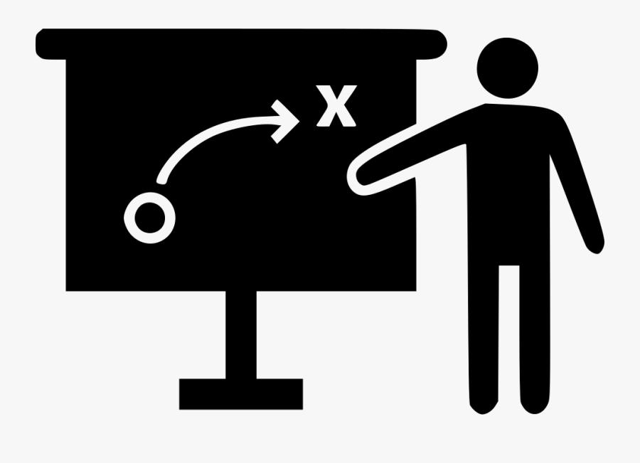Coaching Icon Free Icons - Coaching Icon Black And White, Transparent Clipart