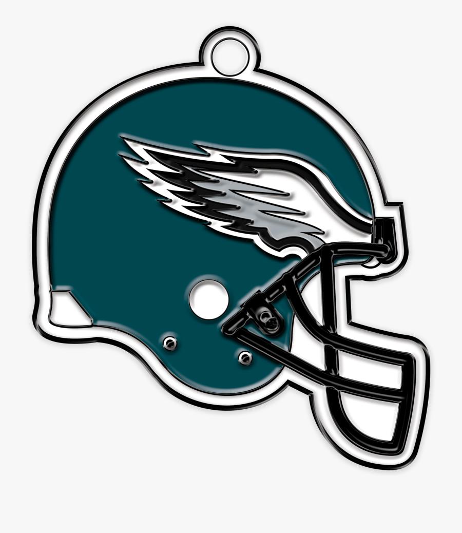 Transparent Philadelphia Eagles Png - Philadelphia Eagles Helmet Png, Transparent Clipart