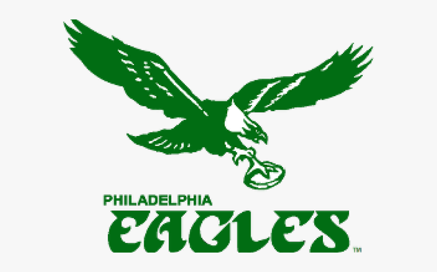 Transparent Philadelphia Eagles Png - Philadelphia Eagles Old School Logo, Transparent Clipart