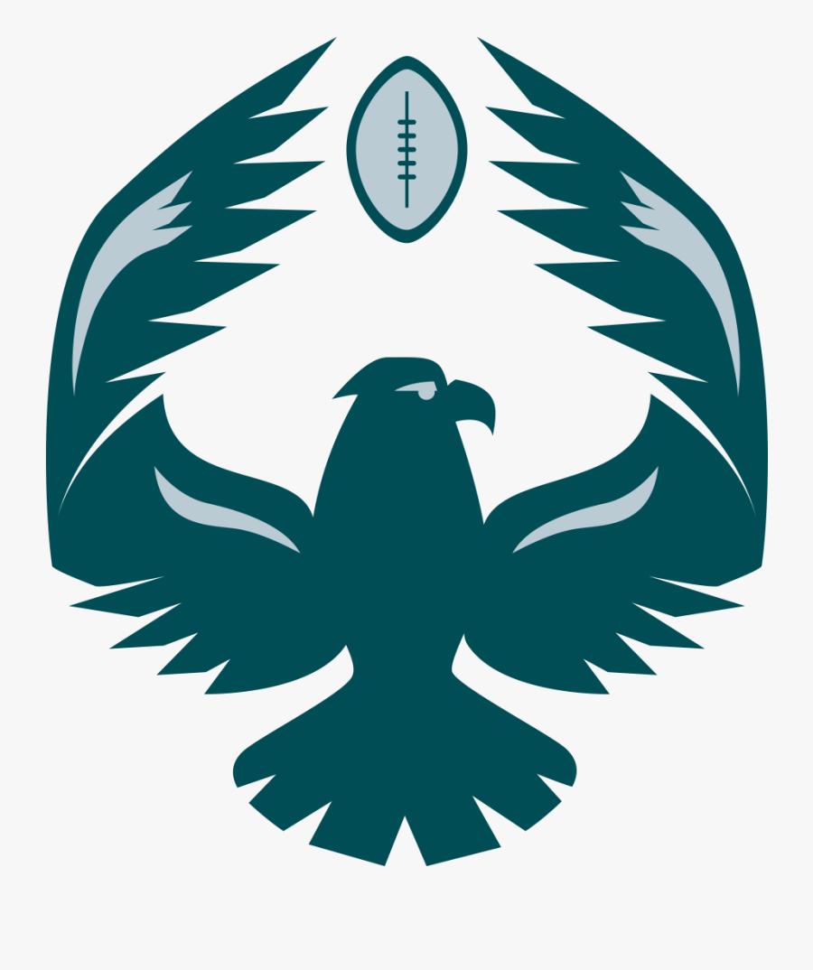 Eagle Philadelphia Vikings Miami Nfl Minnesota Rams - Eagles 2d, Transparent Clipart