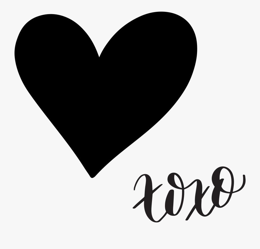 Transparent Conversation Heart Clipart - Hand Drawn Heart Svg, Transparent Clipart