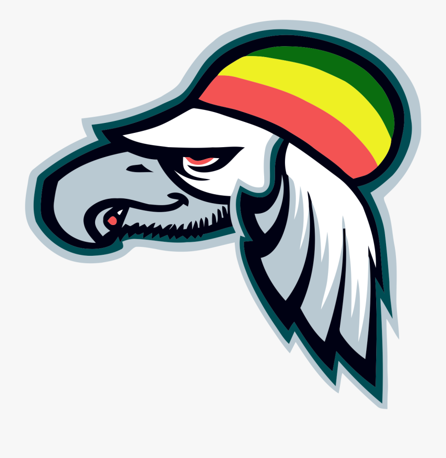 Transparent Raiders Clipart - Fantasy Football Team Logos Eagles, Transparent Clipart