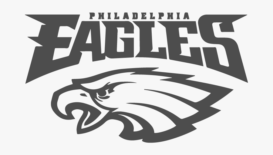 Work With The Eagles Organization To Further Develop - Philadelphia Eagles Logo White, Transparent Clipart