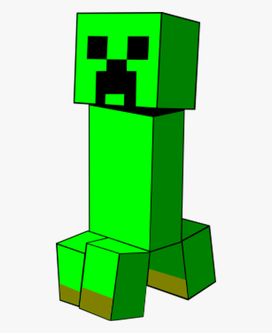 A Creeper From Boom Minecraft Creeper Svg Free Transparent
