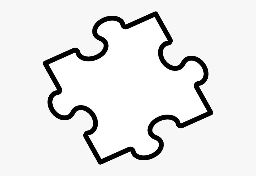 Transparent Magazines Clipart - Jigsaw Puzzle Template 2 Pieces, Transparent Clipart
