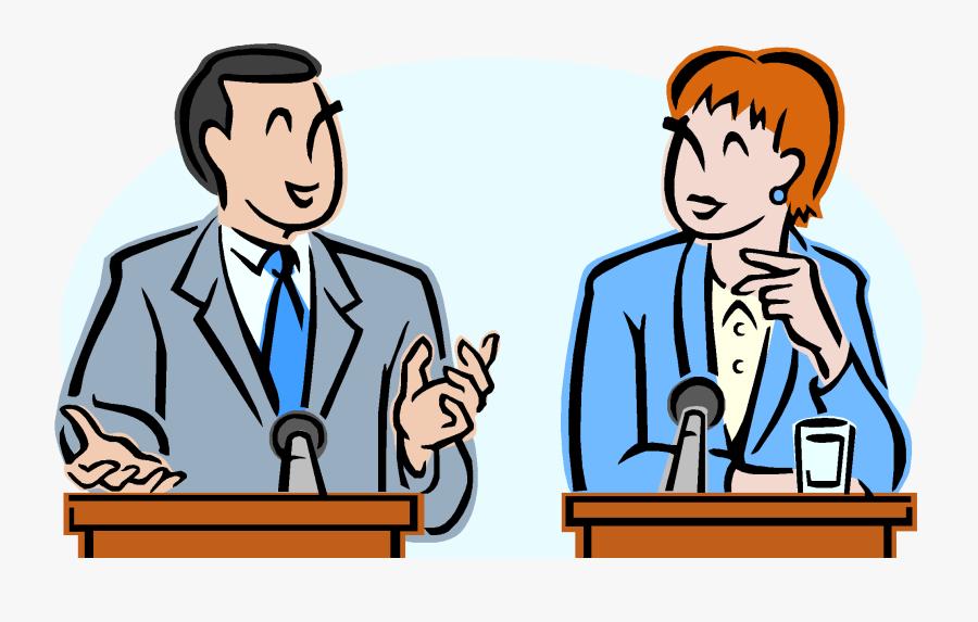 Debate Clipart 3 Clip Art - Debate On English Language, Transparent Clipart