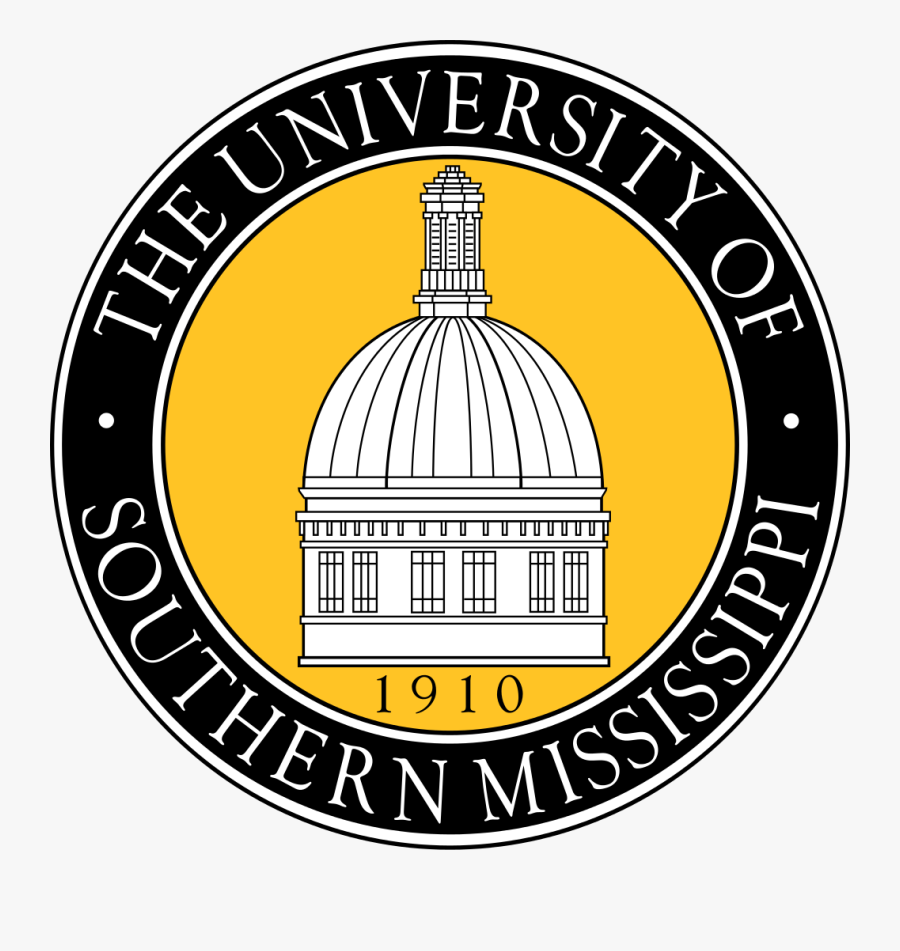 University Of Southern Mississippi Clipart - University Of Southern Mississippi, Transparent Clipart