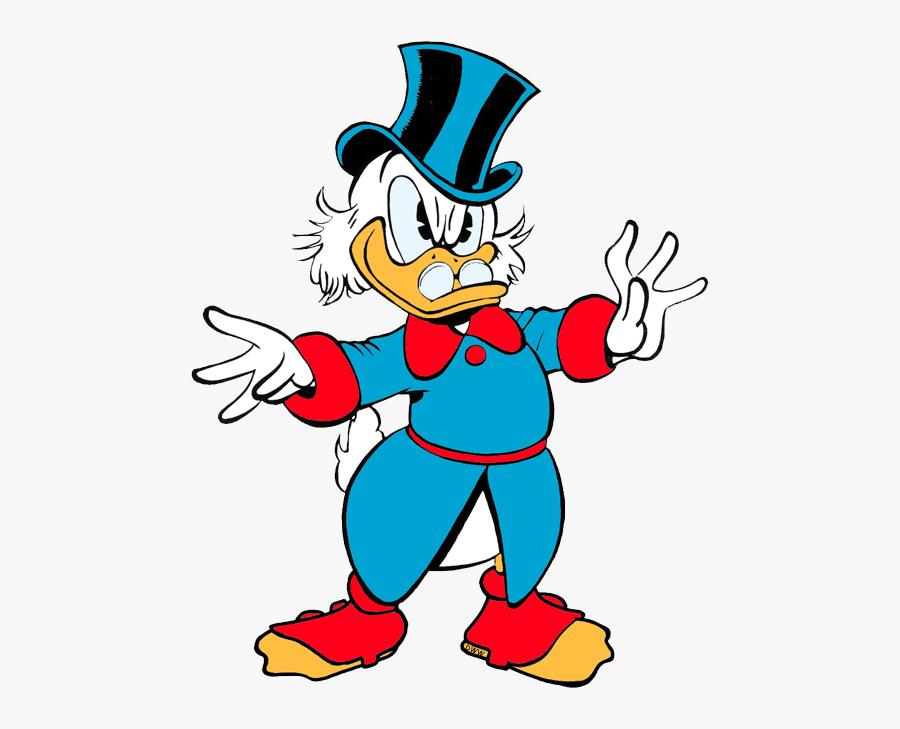 Ducktales Clip Art Disney Clip Art Galore - Walt Disney's Uncle Scrooge Adventures In Color, Transparent Clipart