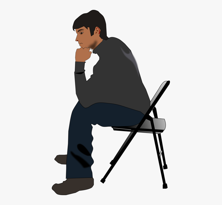 Transparent Sit Down Clipart Sitting In Chair Clipart Free Transparent Clipart Clipartkey