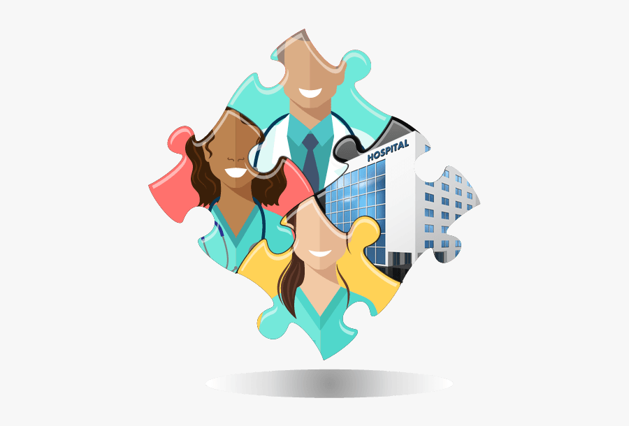 Free Stock Hospital Mergers And The - Puzzle Healthcare, Transparent Clipart
