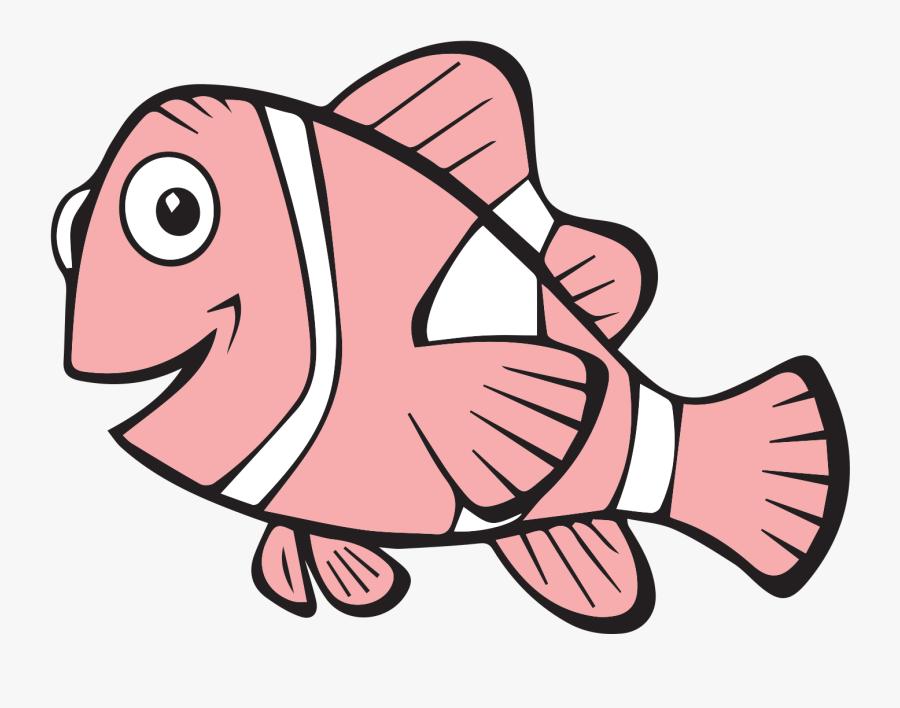Coloring Book - Ausmalbilder Nemo, Transparent Clipart