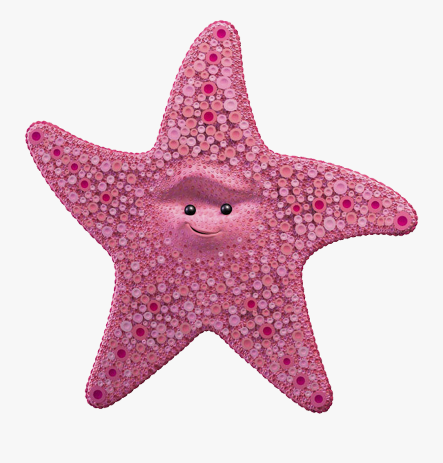Clip Art Finding Nemo Peach - Starfish From Finding Dory, Transparent Clipart