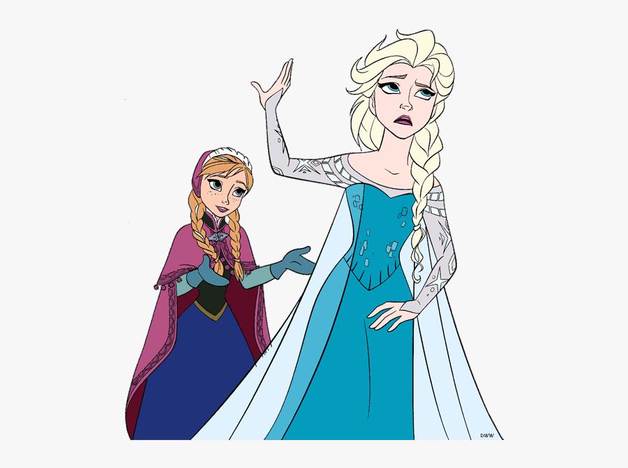 Elsa - Frozen Anna Disney Clipart