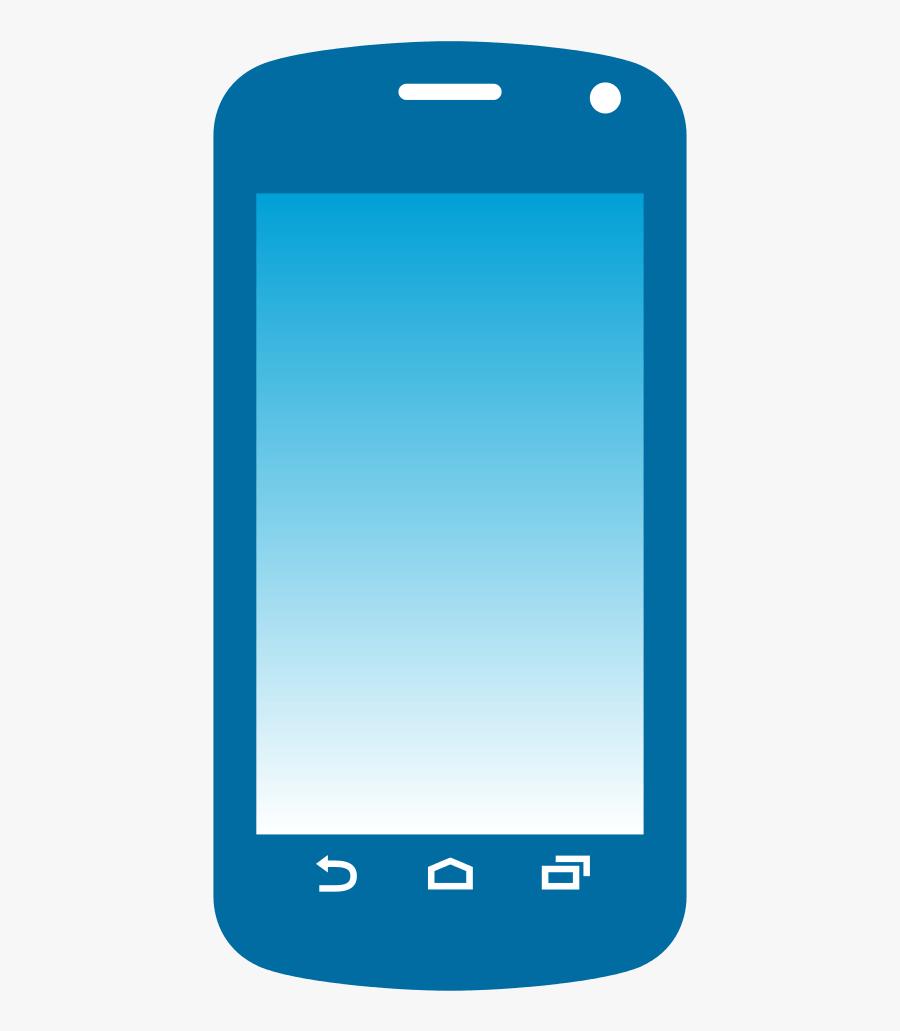 Emoji Phone Transparent Png - Transparent Background Mobile Logo Png, Transparent Clipart