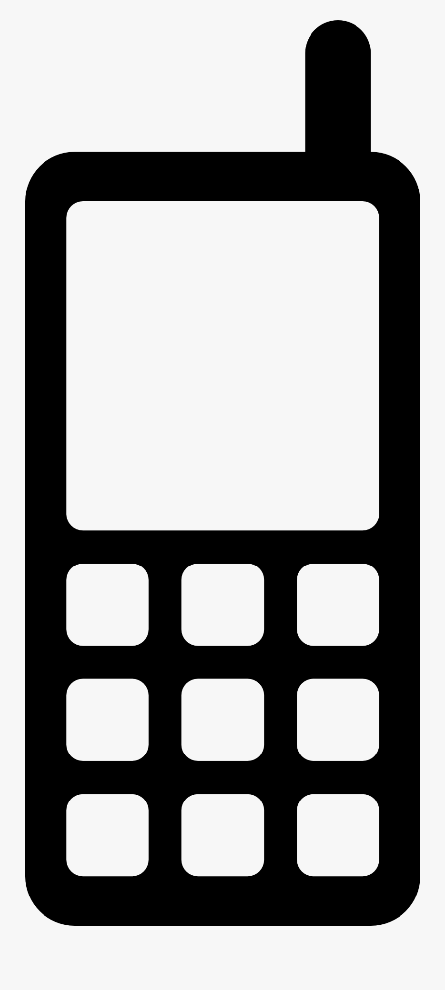 Mobile Icon Clipart Computer Icons Clip Art - Mobile Sign For Email Signature, Transparent Clipart