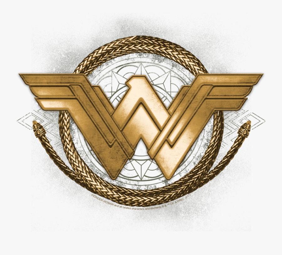 """Wonder Woman Lasso Logo Men""""s Tank - Wonder Woman Symbol With Lasso, Transparent Clipart"""