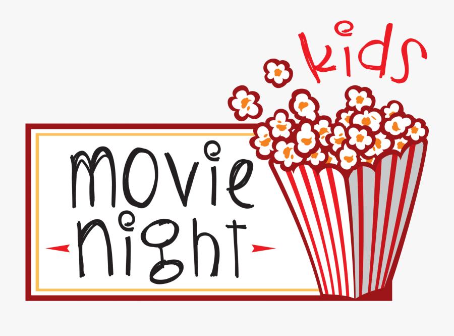 Kids Movie Night, Transparent Clipart