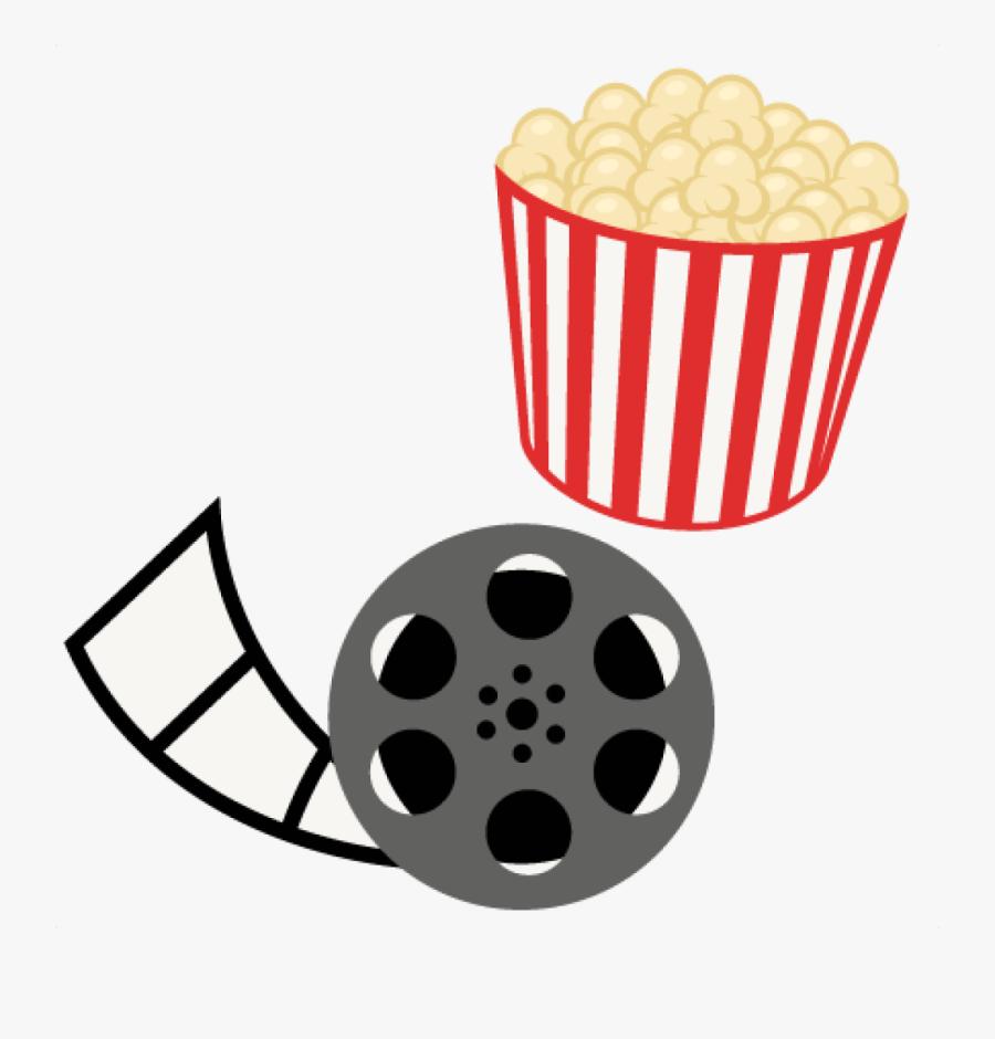 Transparent Movie Reel Png - Cute Movie Clipart, Transparent Clipart