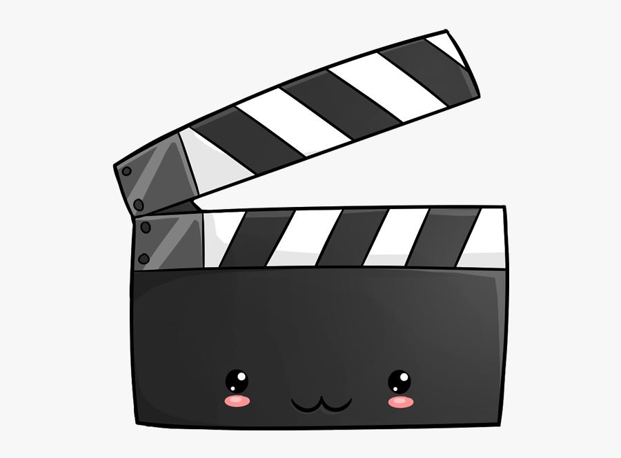Movie Night Kawaii - Movie Kawaii Png, Transparent Clipart
