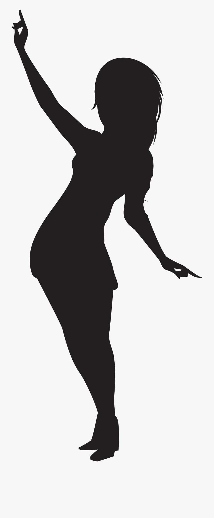 Dancing Girl Silhouette Png Clip Artu200b Gallery Yopriceville - Dancing Girl Silhouette Png, Transparent Clipart